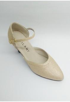 OD 498 Nimfa Dancing Shoes Ballroom Glitz Closed Toe.