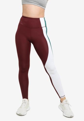 Superdry red Training Asymmetric Leggings - Sports Performance E5377AA32B201EGS_1