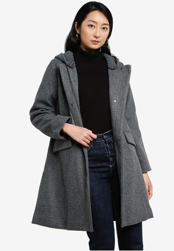 LOWRYS FARM grey Fleece Coat E95B7AA79A2958GS_1
