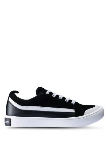 Calvin Klein black Dino Sneakers 088D7SHE7EAAD5GS_1