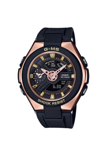 Baby-G black CASIO G-SHOCK WATCH MSG-400G-1A1DR 34B68ACC4C7376GS_1
