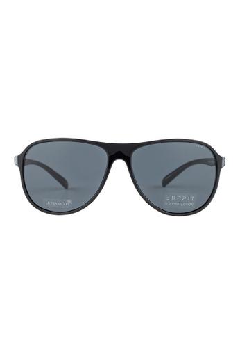ESPRIT ESPRIT Aviator Black Sunglasses ET17922 ES374AC42GBDMY_1