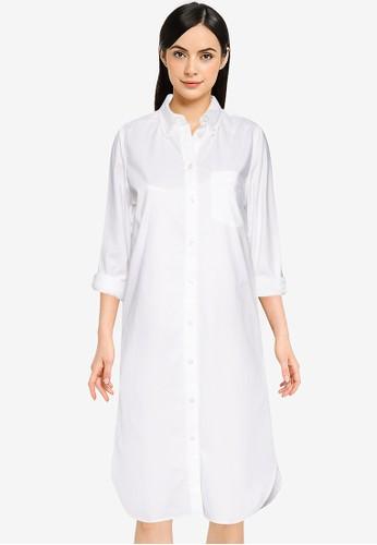 Gap white Oxford Shirt Dress 6ECCBAAF1611A3GS_1