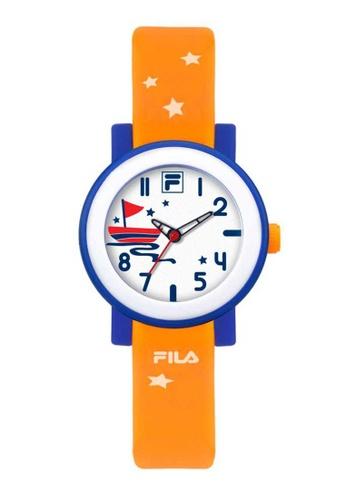 FILA Watches orange Fila Orange Rubber Watch 6988CACC77190CGS_1