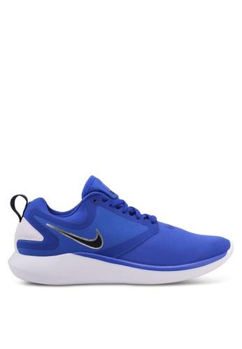 Nike blue Men's Nike LunarSolo Running Shoes NI126SH0STRVMY_1