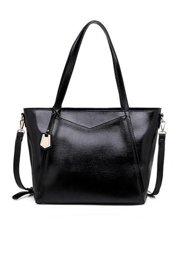 Halo black Vintage Three Way Crossbody Bag CE041AC456ED35GS_1