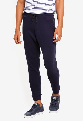 threads by the produce blue and navy Cotton Terry Joggers 6D5BBAA4D4BE76GS_1