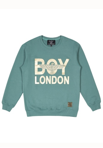 BOY LONDON 綠色 BOY LONDON SNAKE BOY SWEATSHIRT 9461AAA3A9C226GS_1
