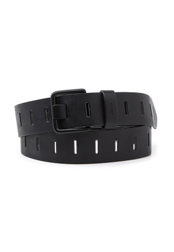 Levi's black Levi's Men's Slatted Belt 38019-0198 58ACDACE37B033GS_1