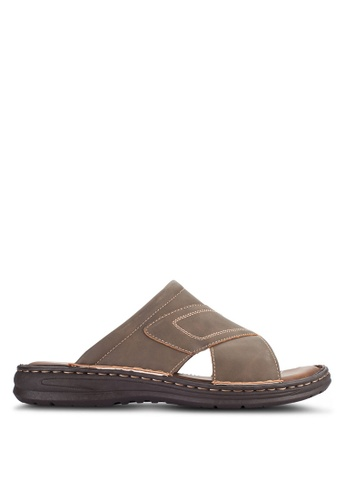 Louis Cuppers brown Casual Sandals LO977SH91VPCMY_1