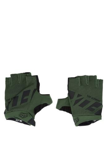 Fox Racing green Ranger Short Gloves FO276AC0JWHEPH_1