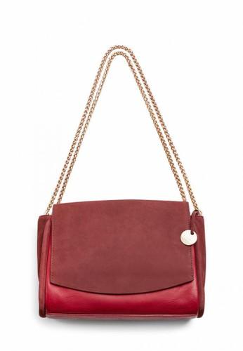 SKAGEN red Skagen Sylvi - Leather - Flap Crossbody - Tas Skagen Wanita - SWH0265611 0EFC6ACF4D6E5EGS_1