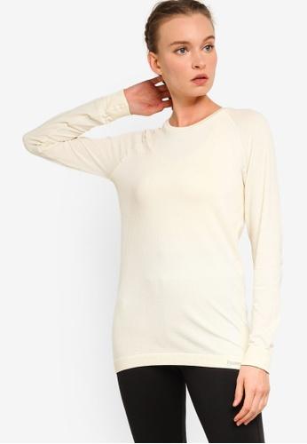 Hummel white Clea Seamless T-Shirt FD227AA8202890GS_1