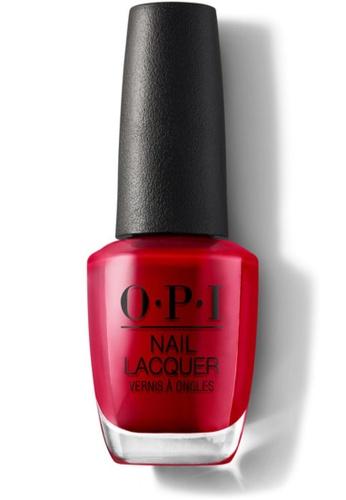 O.P.I red NLZ13 - NL - COLOR SO HOT IT BERNS 5CD35BEB9DE48CGS_1