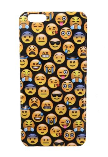 Mr Gugu & Miss Go multi Emoji IPhone Case MR924AC38GINHK_1