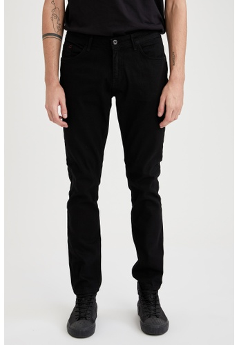 DeFacto black Pedro Slim Jeans 1F1D8AA9A7AEE2GS_1