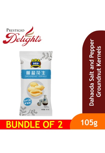 Prestigio Delights black Dahaoda Salt and Pepper Groundnut Kernels 105g Bundle of 2 E2878ESC1500A9GS_1