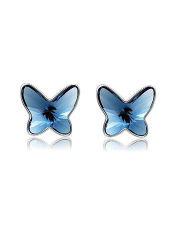 ADORA blue Butterfly Earrings 3E379AC27B4C84GS_1