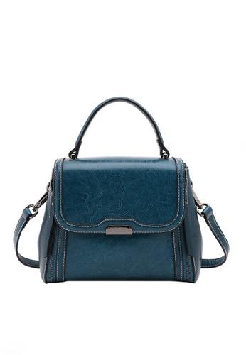 Twenty Eight Shoes blue VANSA Leather Crossbody Handbag VBW-Cb66025 E48DAAC9F7A0A0GS_1