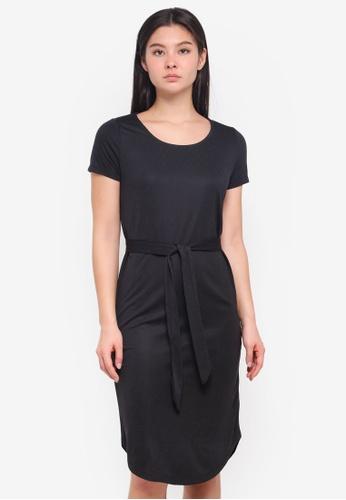 ICHI black Julo Dress C1BCAAAE8588DCGS_1