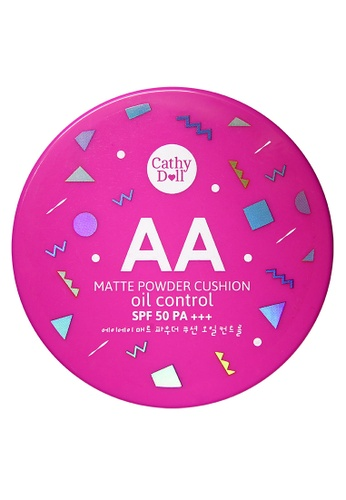 Cathy Doll beige AA Matte Finished Powder Cushon in Light Beige CA851BE49FIWPH_1