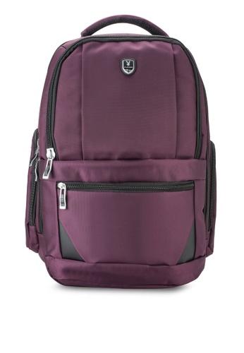 Playboy purple Playboy Laptop Backpack PL371AC95LYEMY_1