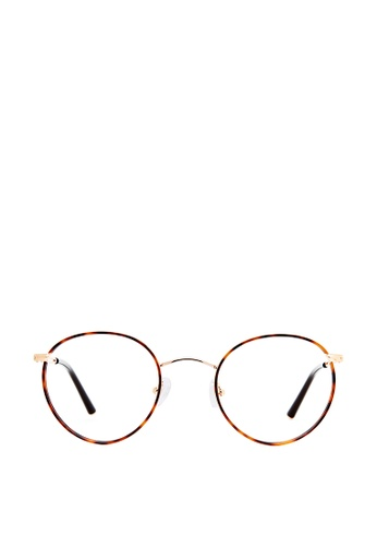 Carin brown and orange and multi and gold Jude C3 Glasses 484C3GL4B2757CGS_1