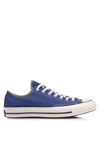Converse blue Chuck Taylor All Star 70 Core Ox Sneakers 6A8A4SH6531D13GS_1