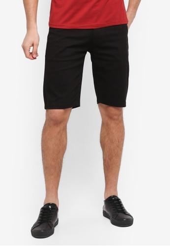 Fidelio black Casual Cotton Shorts E6321AA84D5DD5GS_1