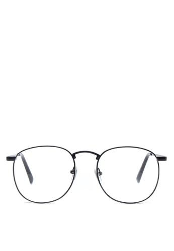 Kimberley Eyewear gold Big Bully Eyeglasses KI426GL30CXHPH_1