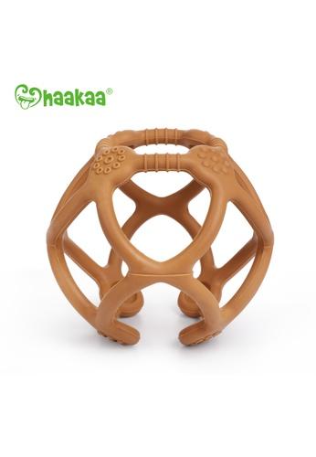 Haakaa Haakaa Silicone Teething Ball - Rust CF0F2ESE529A1FGS_1