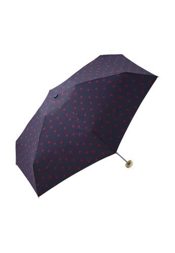 WPC blue WPC Jaggy Heart Mini Umbrella (Navy) 2889FAC1DA25FFGS_1