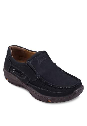 沖孔厚底樂福鞋, zalora 折扣碼鞋, 鞋