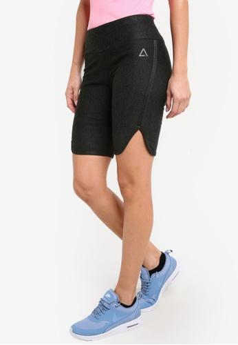 AVIVA grey Knee Length Capri Shorts AV679AA34ZZTMY_1