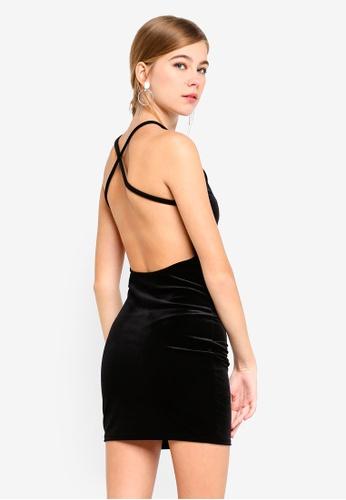 Shop MISSGUIDED Velvet Bodycon Dress Online on ZALORA Philippines 82c86ffbc