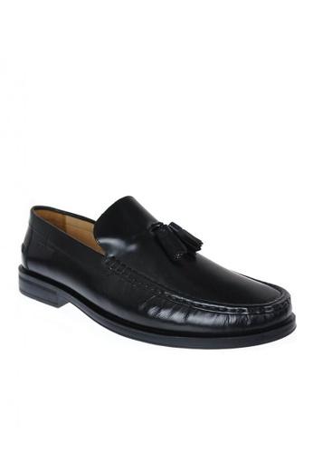 Sebago black Men's Dress Casual Shoes Eliott Tassel 9A1FESH40D23C3GS_1
