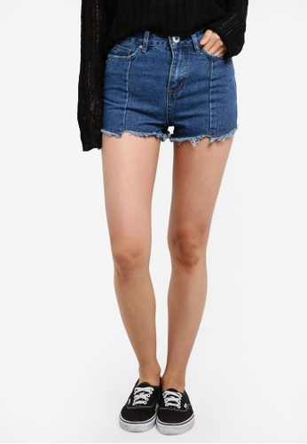 Factorie blue Texan Shorts FA880AA0SA97MY_1