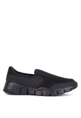 Alberto black Textile Comfort Sneakers 16C23SH8536BEBGS_1