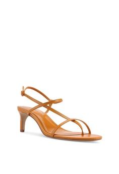 f056b328e20 Mango Leather Strap Heels HK  499.00. Sizes 36 38 39 40