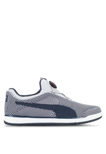 PUMA navy RBR Disc Shoes PU549SH23JDSMY_1