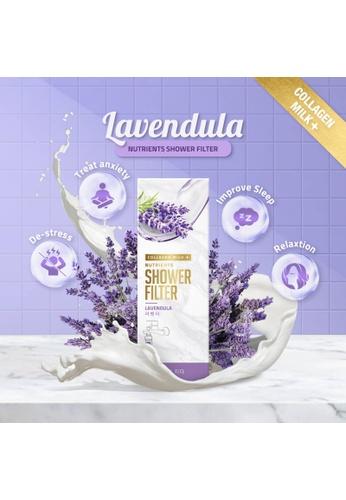 Refresh Wellness white World's First Collagen Milk + Nutrients Shower Filter Collection 42798BE71573D2GS_1