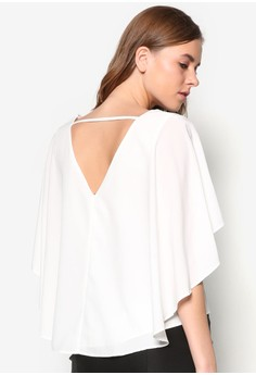Collection Cape V-Neck Top