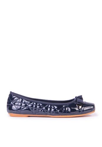 Sunnydaysweety blue Big Sale Item - Classic Plaid Bow Small Square Head Flat Shoes C12095BL SU219SH0F9RKSG_1