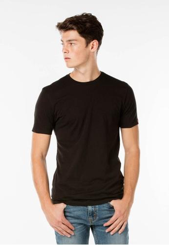 69be44036 Levi's black Levi's Slim Fit Crewneck Tees (2-packs black) LE815AA61QRMMY_1