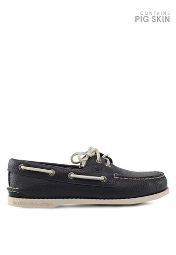 Sperry blue and navy Authentic Original 2-Eye Classic Boat Shoes SP921SH48QKTSG_1