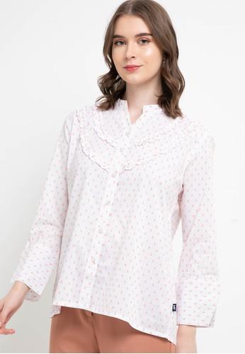 Lois Jeans white Cotton Dobby Shirt KC731 6F3C4AA3245C97GS_1
