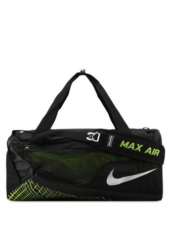 Nike black and silver Nike Vapor Max Air Training Duffel Bag NI126AC0STQDMY_1