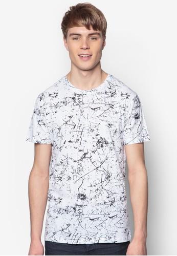 Balsam 印花短袖TEE, 服飾, 印圖esprit holdingsT恤