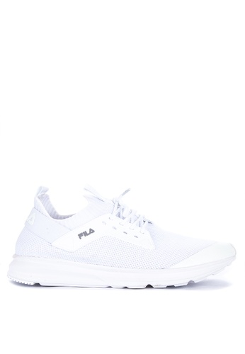 Fila white Penetrate Running Shoes 472C9SHADB674AGS_1