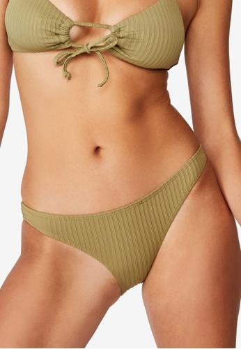 Cotton On Body green Full Bikini Bottom 59706US91360D9GS_1